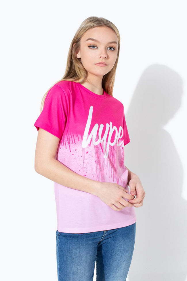 HYPE HALF DRIPS SCRIPT KIDS T-SHIRT