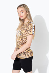 HYPE LEOPARD SCRIPT TAPED KIDS T-SHIRT