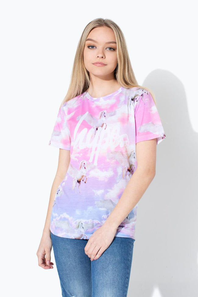 HYPE UNICORN SKIES KIDS T-SHIRT