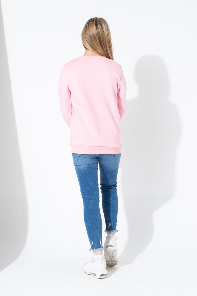 HYPE BUBBLEGUM SCRIPT KIDS CREW NECK