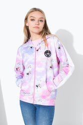HYPE UNICORN SKIES KIDS ZIP UP HOODIE