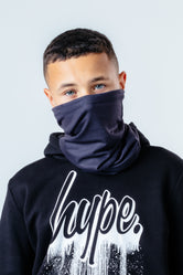 HYPE BLACK SNOOD HEADWEAR