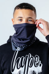 HYPE MONO SPOTTY SNOOD HEADWEAR