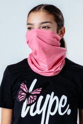 HYPE PINK SNOOD HEADWEAR