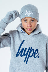 HYPE GREY HAT & GLOVES KIDS ACCESSORIES SET