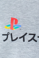 HYPE PLAYSTATION GREY DUAL LOGO KIDS T-SHIRT