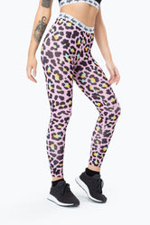 HYPE DISCO LEOPARD WOMENS LEGGING