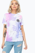 HYPE PALM SPLATTER WOMENS T-SHIRT