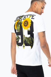 HYPE WHITE SUNFLOWER 93 MEN'S T-SHIRT