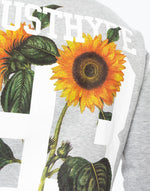 HYPE GREY SUNFLOWER 93 MEN'S CREWNECK
