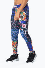 HYPE PATCHWORK MENS JOGGERS