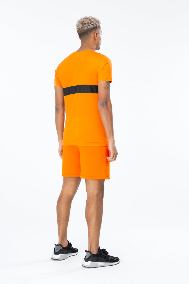 HYPE ORANGE JUST HYPE STRIPE MEN'S SHORTS