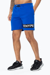 HYPE BLUE JUST HYPE STRIPE MEN'S SHORTS