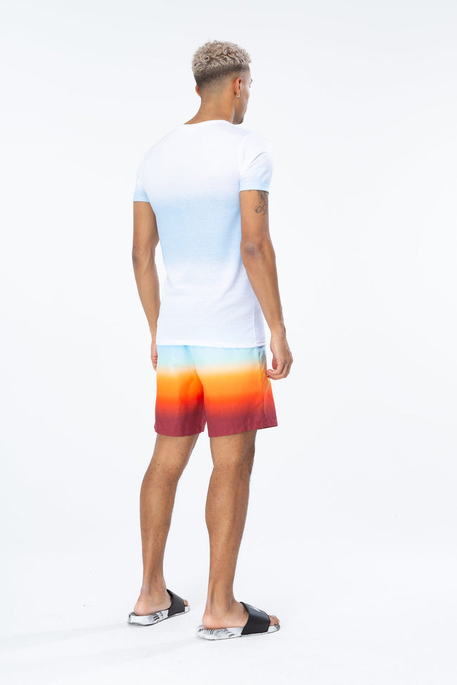 HYPE SUNDOWN FADE MENS SWIM SHORTS