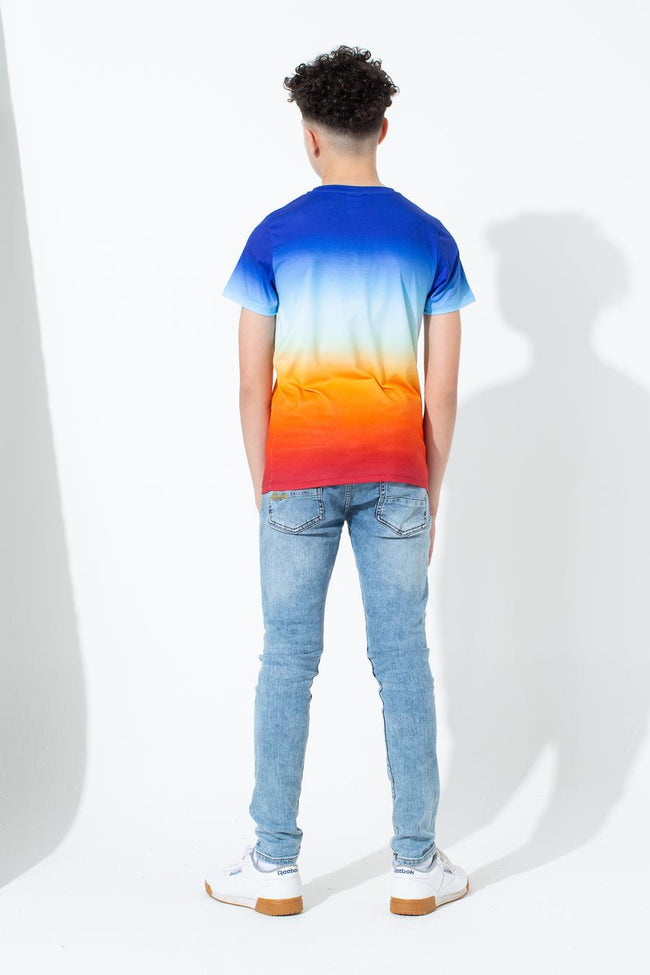 HYPE SUNDOWN FADE SCRIPT KIDS T-SHIRT