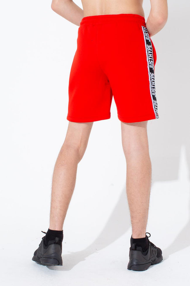 HYPE RED TAYLOR TAPE KIDS SHORTS
