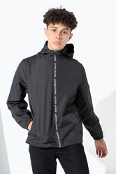 HYPE BLACK JUST HYPE TAPED KIDS RUNNER JACKET