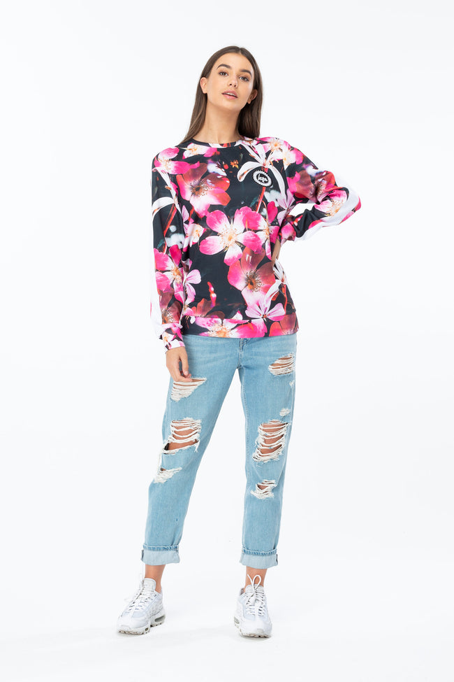 HYPE THESE FLOWERS WOMEN'S CREWNECK