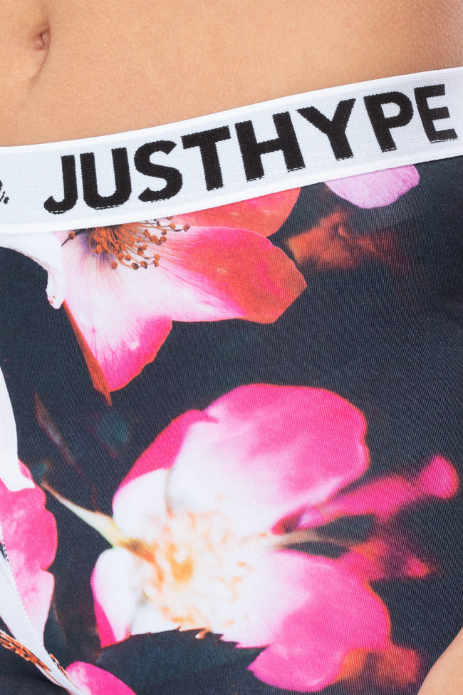 HYPE THESE FLOWERS WOMENS LEGGINGS