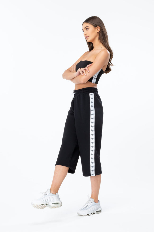 Hype Black Just Hype Tape Womens Culottes