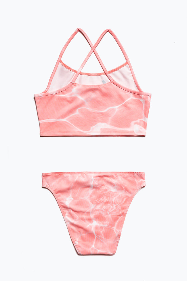 HYPE PINK POOL KIDS BIKINI SET