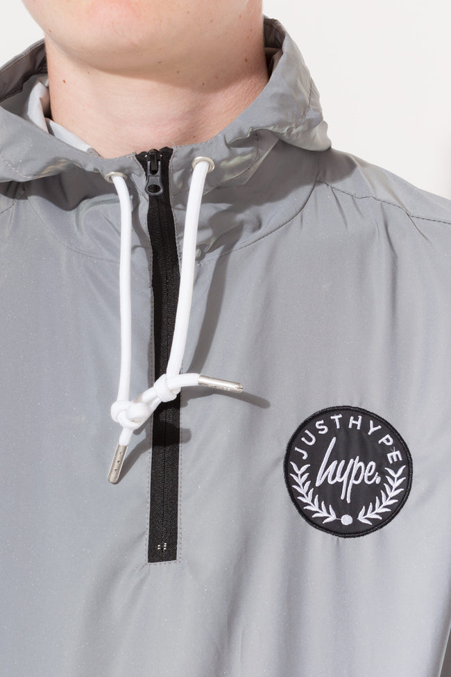 HYPE REFLECTIVE CREST KIDS FISHTAIL JACKET