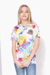 HYPE RAINBOW BRUSH CREST KIDS T-SHIRT