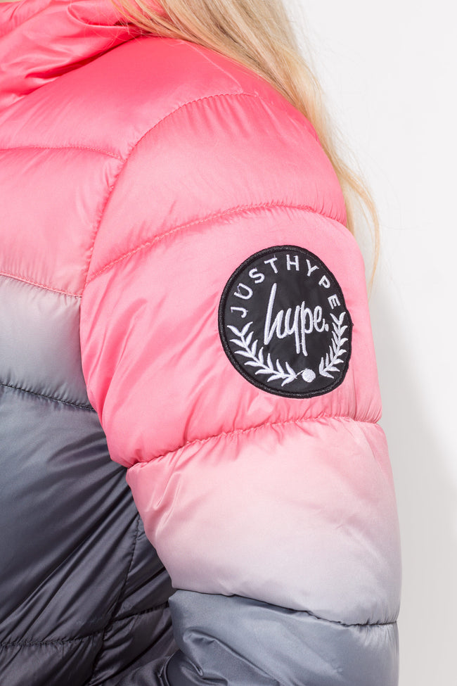 HYPE MULTI SUNDOWN FADE KIDS PUFFER ACKET