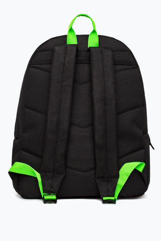 HYPE BLACK GREEN NEON FLASH BACKPACK