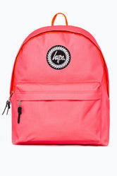 HYPE PINK ORANGE NEON FLASH BACKPACK