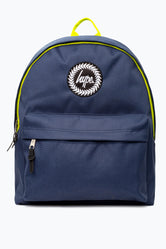 HYPE NAVY YELLOW NEON FLASH BACKPACK