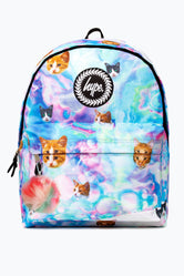 HYPE HOLO KITTY POM POM  BACKPACK