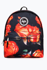 HYPE BLACK ORANGE ROSE BACKPACK