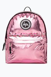 HYPE PINK AZALEA HOLOGRAPHIC BACKPACK
