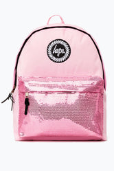 HYPE PINK ORCHID SEQUINS BACKPACK