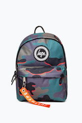 HYPE NEON CAMO AOP MINI BACKPACK