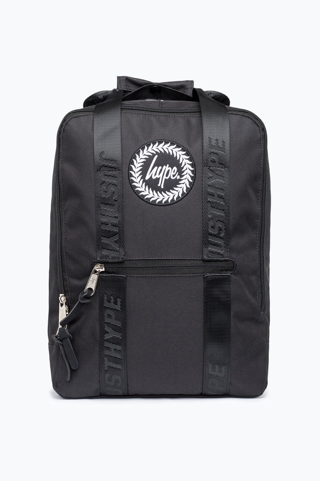 HYPE BLACK CORE CREST BOXY BACKPACK