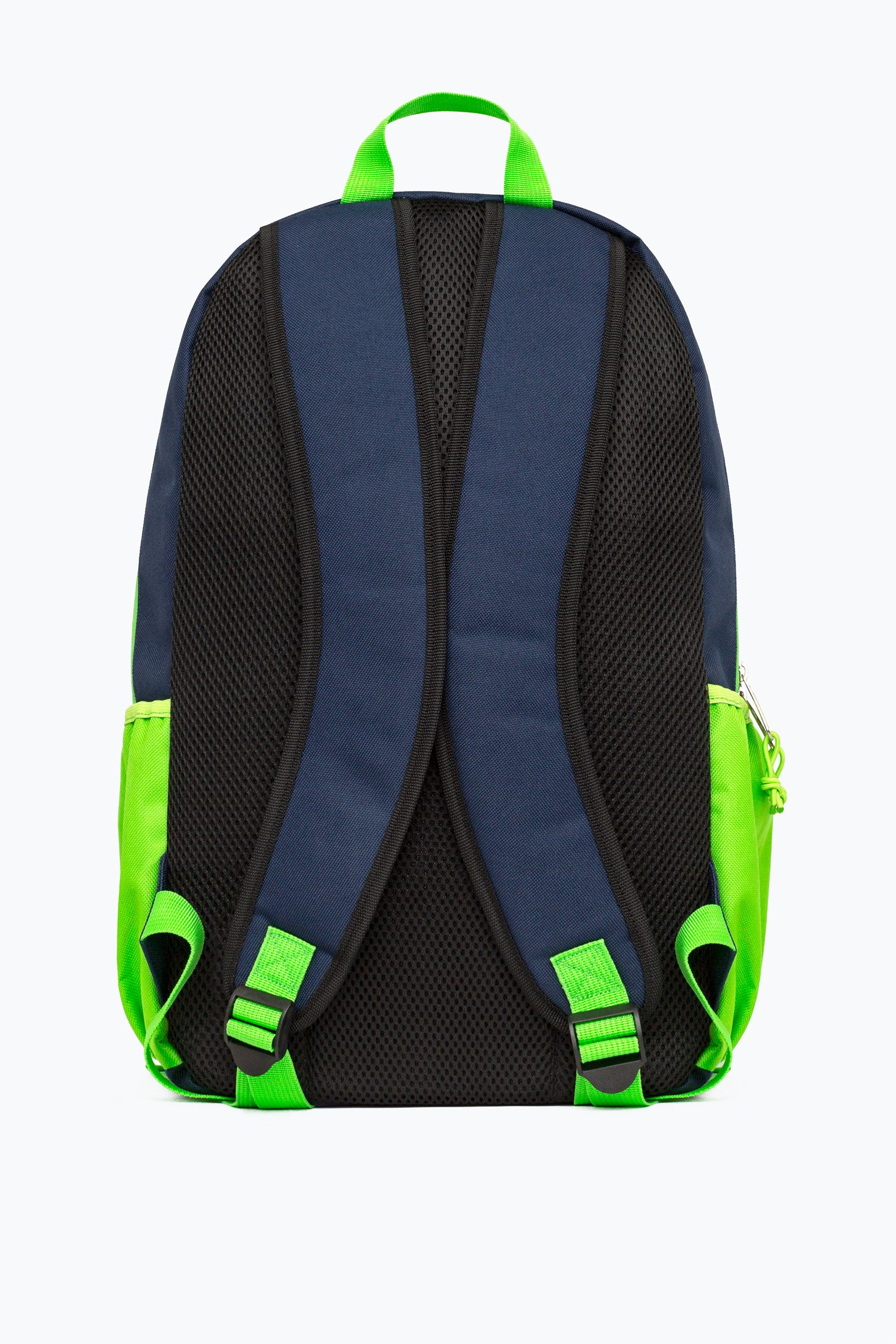 09f3bccc HYPE NAVY GREEN NEON FLASH MAXI BACKPACK – JustHype ltd