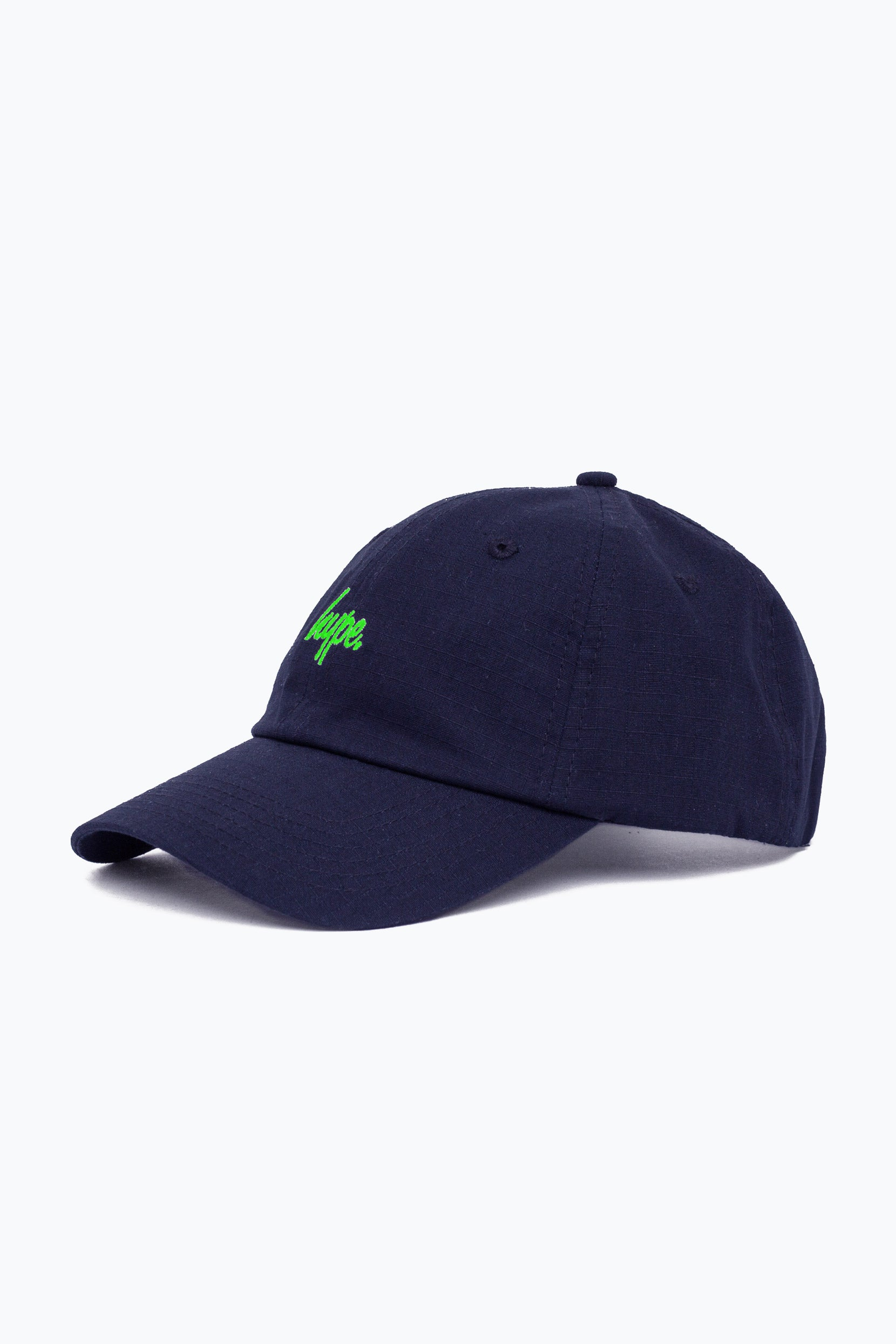 be9f54f5 HYPE NAVY GREEN NEON FLASH DAD HAT – JustHype ltd