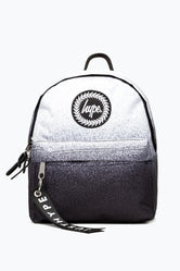 HYPE BLACK MONO SPECKLE FADE MINI BACKPACK
