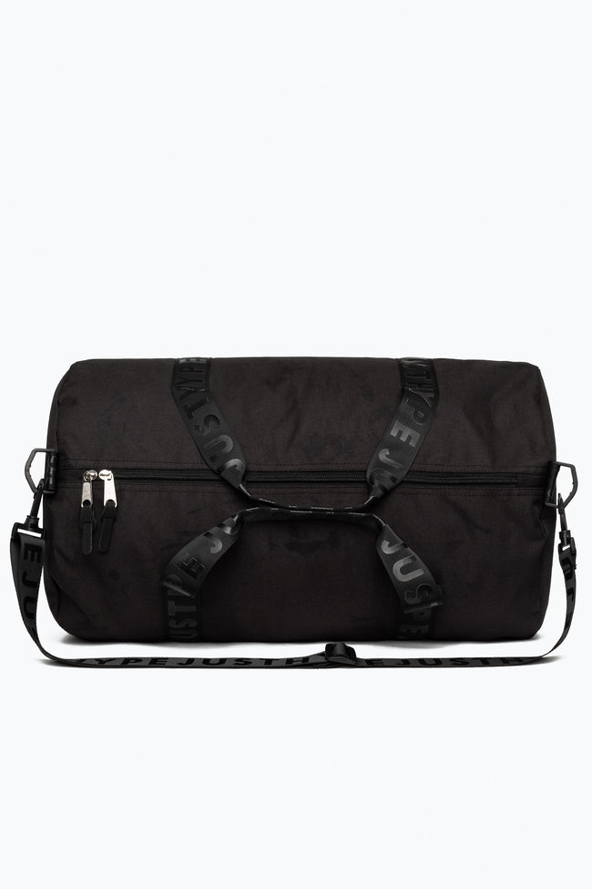HYPE BLACK JUST HYPE TAPE DUFFLE BAG