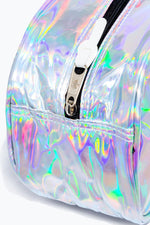 HYPE SILVER HOLOGRAPHIC WASH BAG
