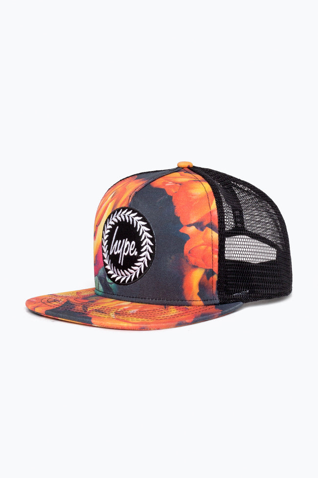 HYPE GREY ORANGEADE TRUCKER HAT
