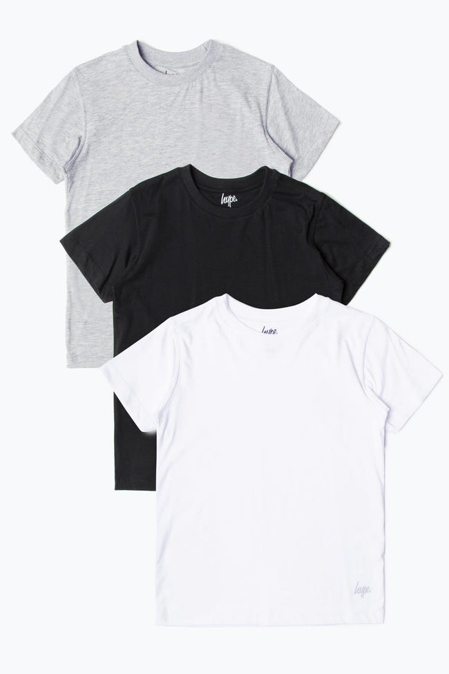 HYPE THREE PACK KIDS T-SHIRT