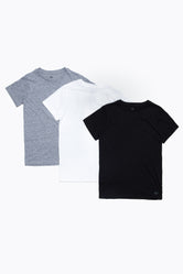 HYPE MONOTONE THREE PACK KIDS T-SHIRT