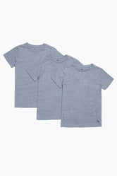 HYPE GREY THREE PACK KIDS T-SHIRT