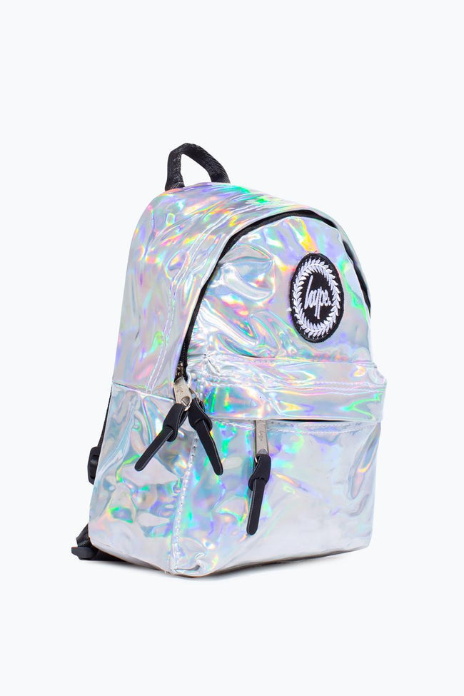 HYPE SILVER HOLO MINI BACKPACK