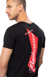 HYPE BUDWEISER BOW TIE PRINT MEN'S T-SHIRT