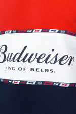 HYPE BUDWEISER COLOURBLOCK MENS CREW NECK