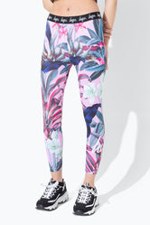 HYPE TROPICS SCRIPT KIDS LEGGINGS